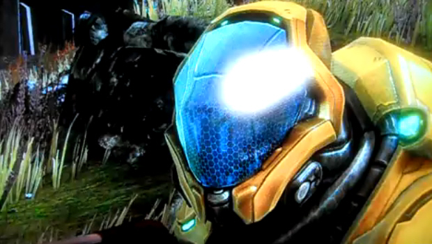 Halo Reach Golden Elite walkthrough screenshot