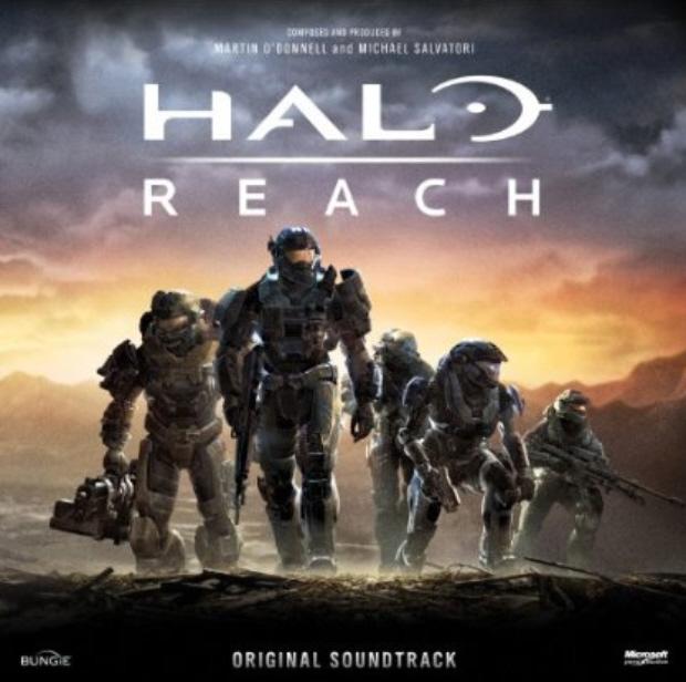 Halo Reach original soundtrack cover artwork