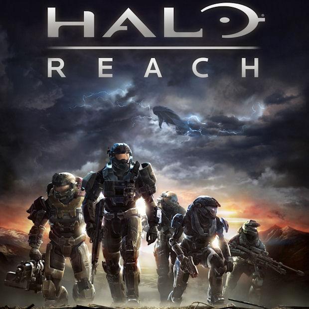 Halo Reach walkthrough box artwork for Xbox 360 game