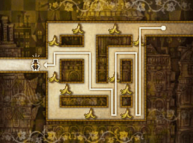 Professor Layton Unwound Future 18 Puzzle Answer Slippery Trip 1 Solution screenshot