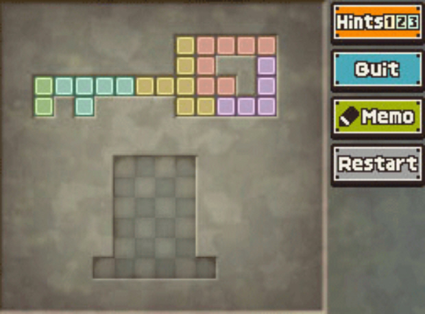 Professor Layton Unwound Future 42 Puzzle Answer Create the Key Solution screenshot