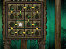 Professor Layton and the Unwound Future puzzle 96 The Right Button solution screenshot