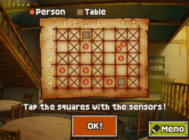 Professor Layton Unwound Future puzzle answer Battle 3 solution screenshot