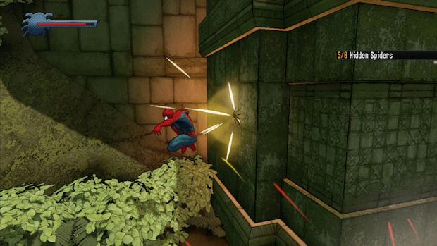 Spider-Man: Shattered Dimensions Hidden Spider screenshot