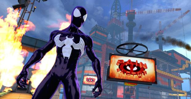 Spider-Man: Shattered Dimensions Ultimate Spider-Man screenshot