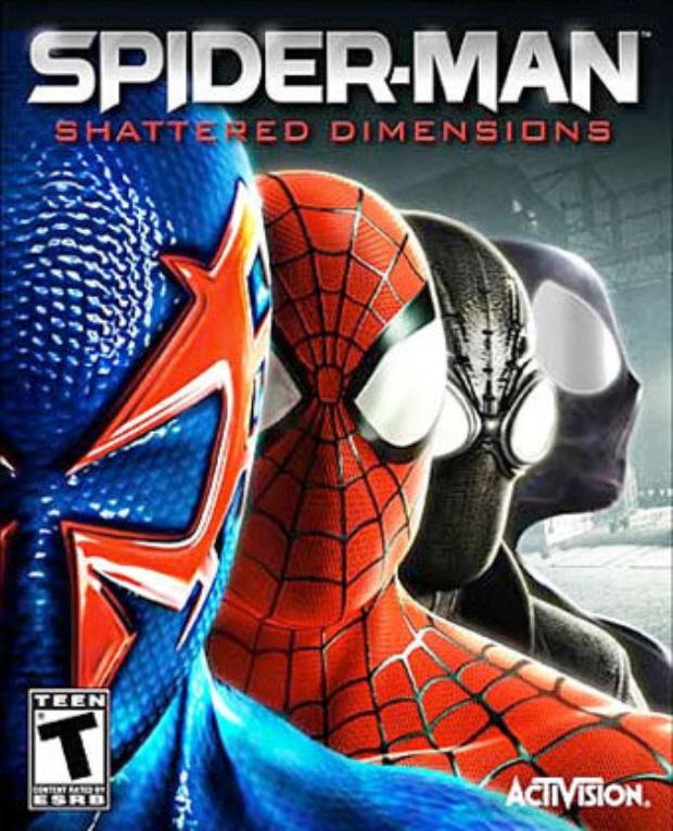 Spider-Man: Shattered Dimensions walkthrough box artwork