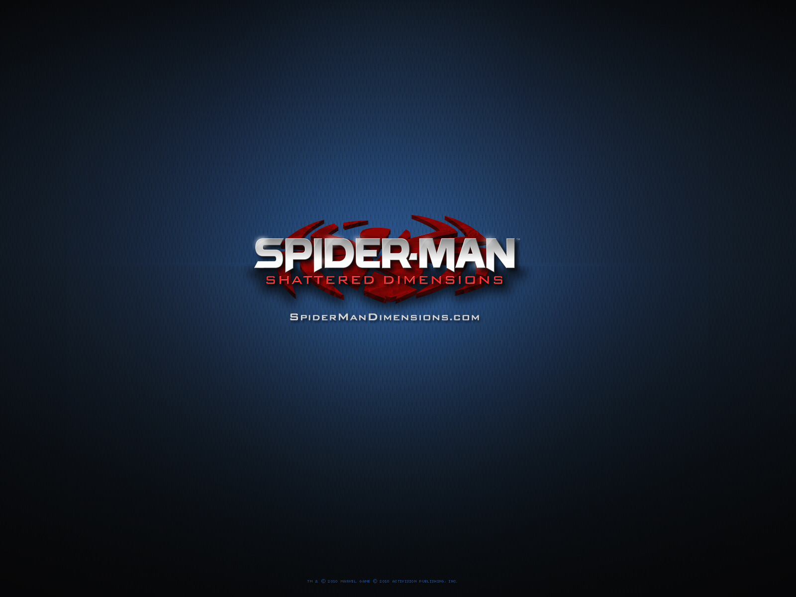 Spider Man Shattered Dimensions Wallpaper Logo