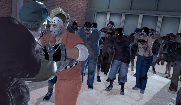 The undead zombies swarm in this Dead Rising 2 screenshot. Hopefully a third is coming