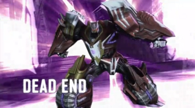 Transformers: War for Cybertron character map pack 2 screenshot of Dead End