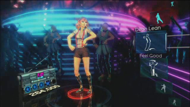 Dance Central Kinect screenshot (Xbox 360)