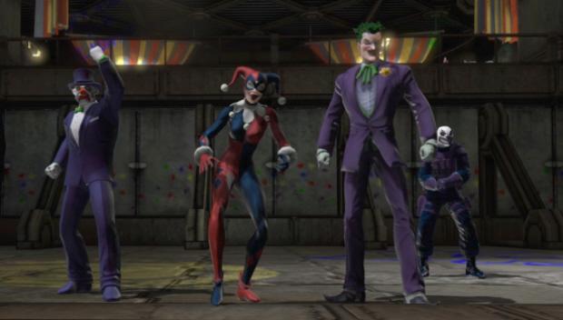 DC Universe Online screenshot Joker and Harley Quinn