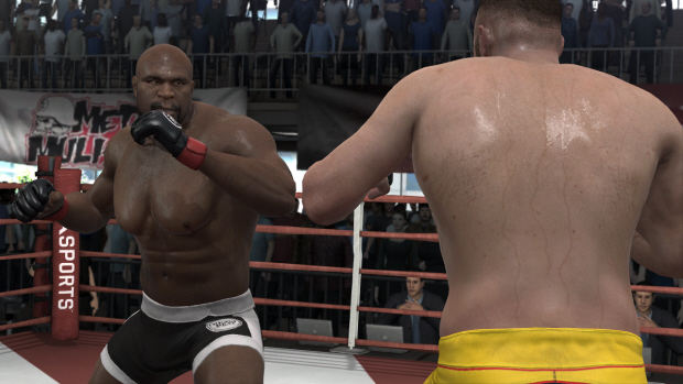 EA Sports MMA characters list screenshot