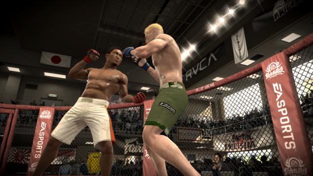 EA Sports MMA screenshot