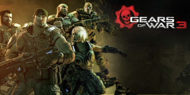 Gears of War 3 artwork