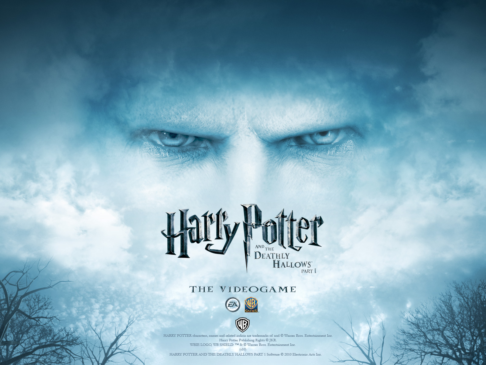 Harry Potter And The Deathly Hallows Part 1 Videogame Wallpaper