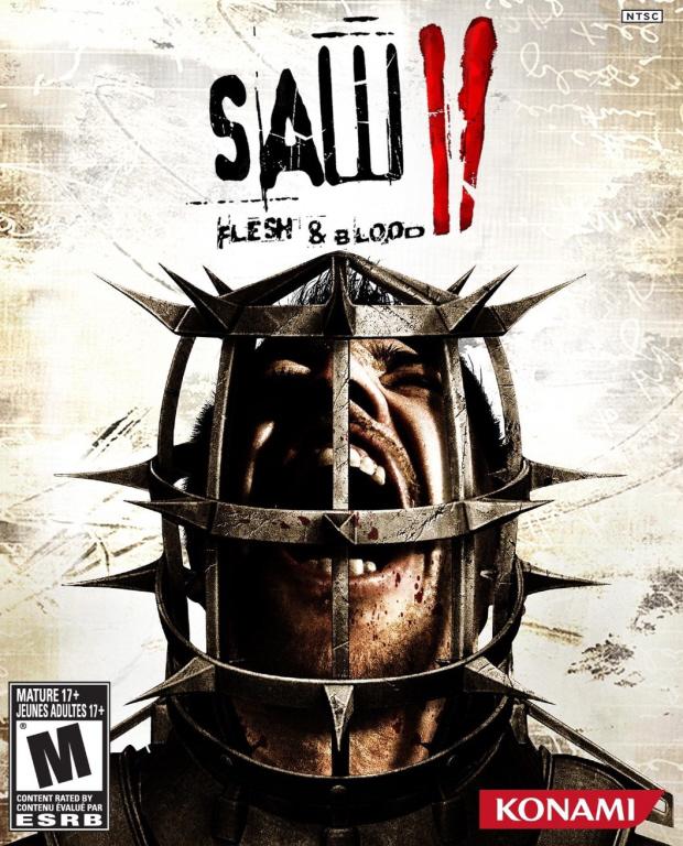 Saw 2: Flesh and Blood walkthrough box artwork
