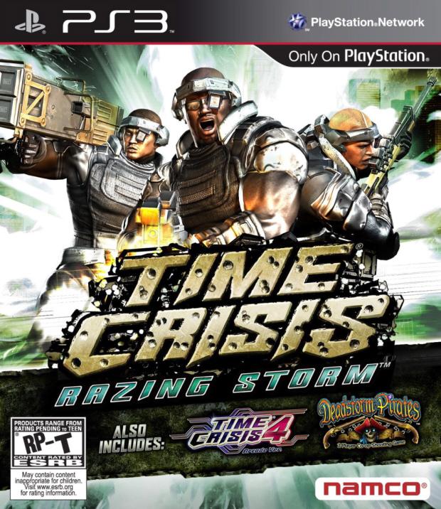 Time Crisis: Razing Storm walkthrough box artwork