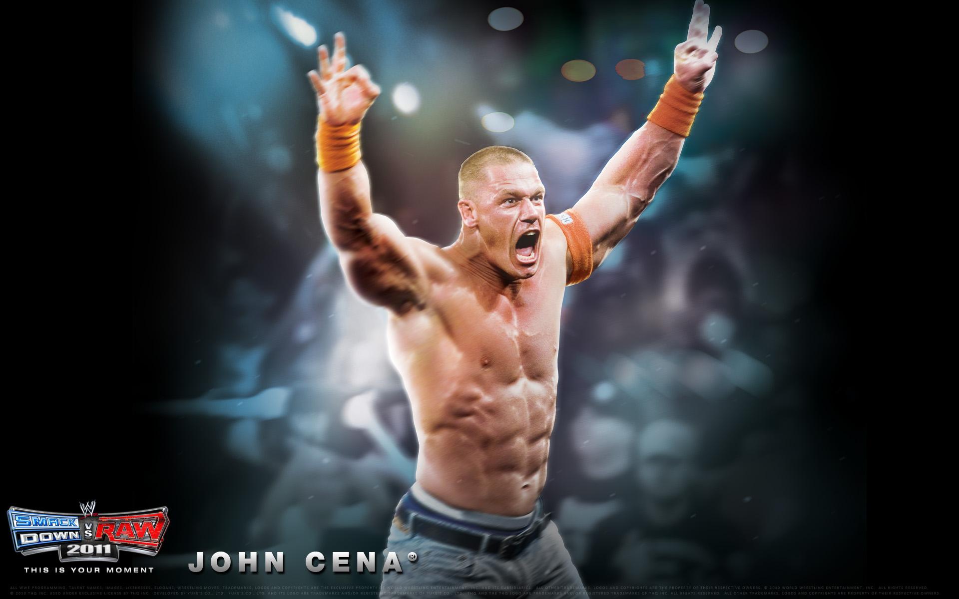 Wwe Smackdown Vs Raw 2011 John Cena Wallpaper