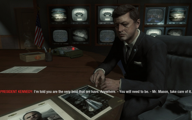 Call of Duty: Black Ops John F. Kennedy and Mason screenshot