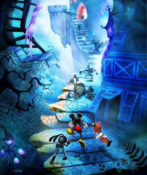 Disney Epic Mickey artwork