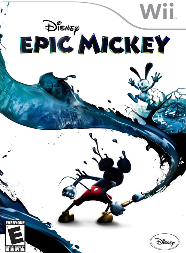 Disney Epic Mickey walkthrough artwork