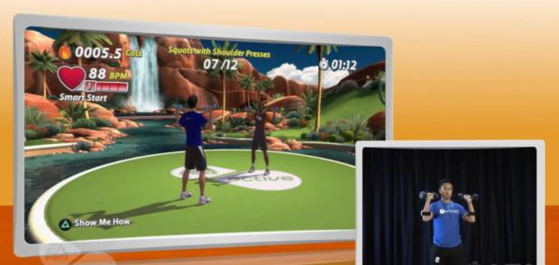 EA Sports Active 2 walkthrough screenshot