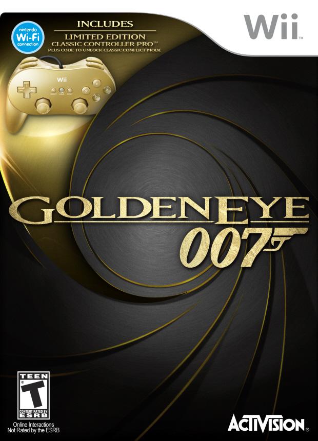 GoldenEye 007 Wii walkthrough box artwork