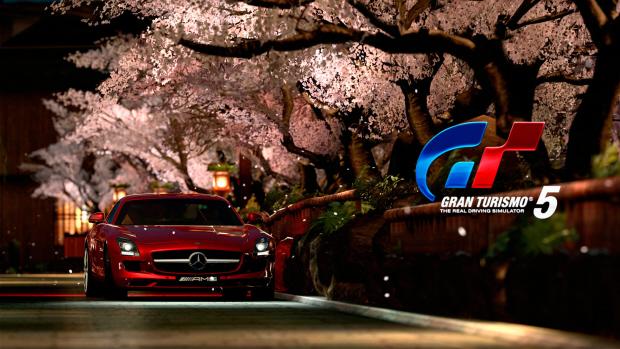 Gran Turismo 5 wallpaper Beautiful Cherry Blossom Environment