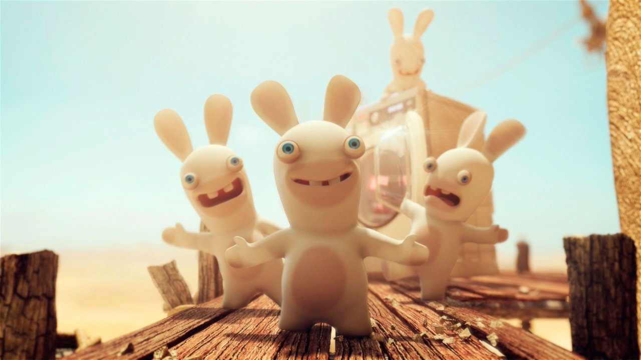 Raving Rabbids Travel In Time Wallpaper Party Time