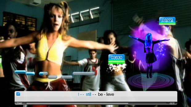 Singstar: Dance songs list screenshot