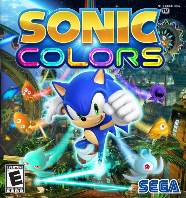Sonic Colors walkthrough box artwork