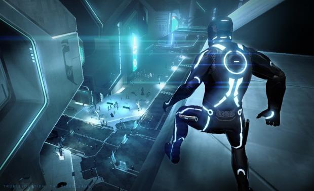 Tron Evolution gameplay screenshot