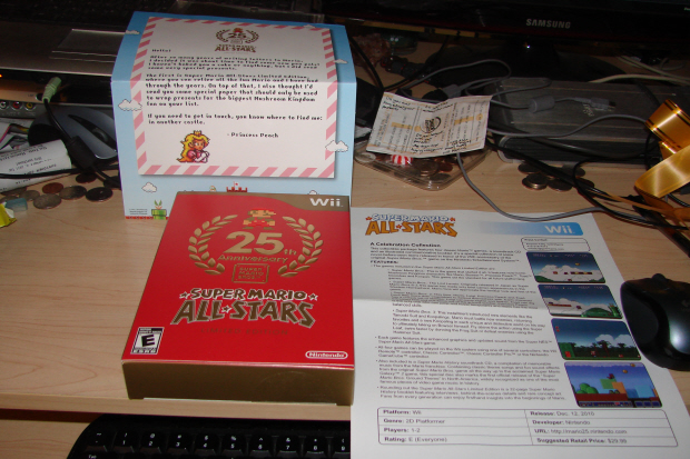 Super Mario All-Stars 25th Anniversary Edition Wii gift set