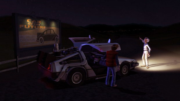 Back to the Future: The Game gameplay screenshot