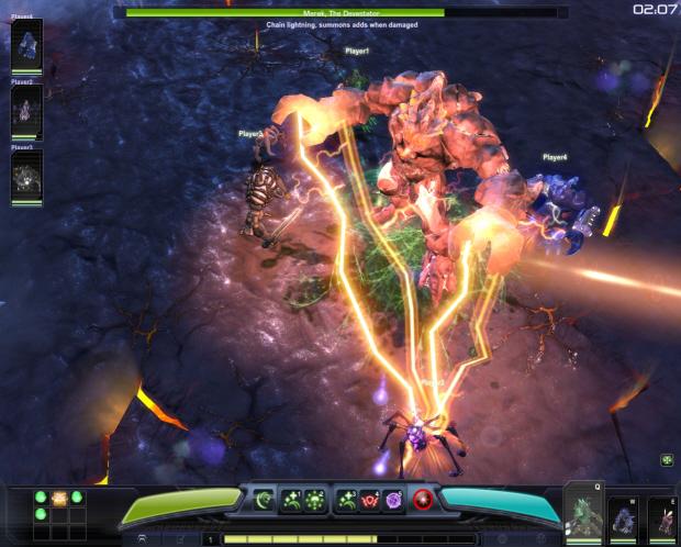 Darkspore screenshot