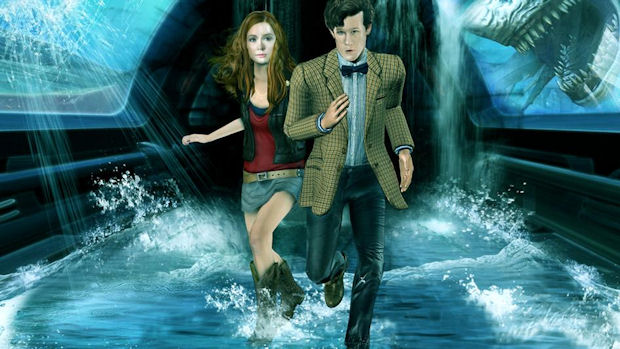 Doctor Who: Shadows of the Vashta Nerada walkthrough game image