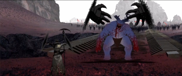 Dragon Age 2 behind the scenes artwork