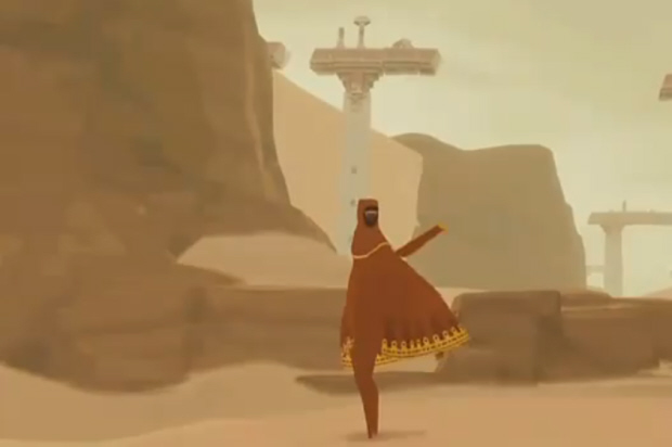 Journey game PSN screenshot from thatgamecompany