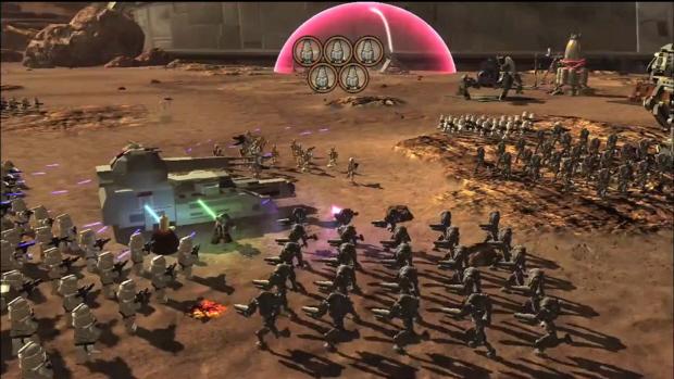 Lego Star Wars 3 rts screenshot
