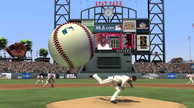 MLB The Show 11 gameplay screenshot