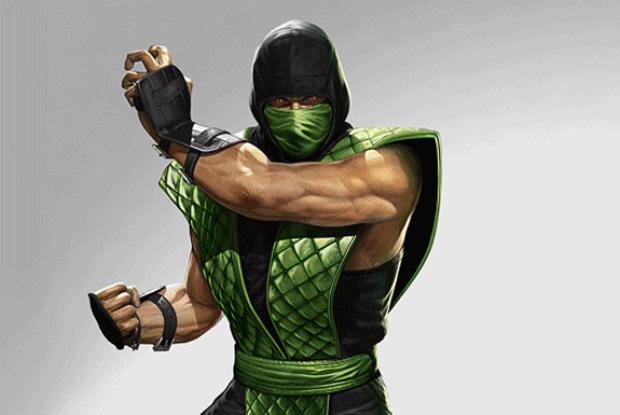 Mortal Kombat 2011 Reptile Klassic costume pre-order bonus artwork