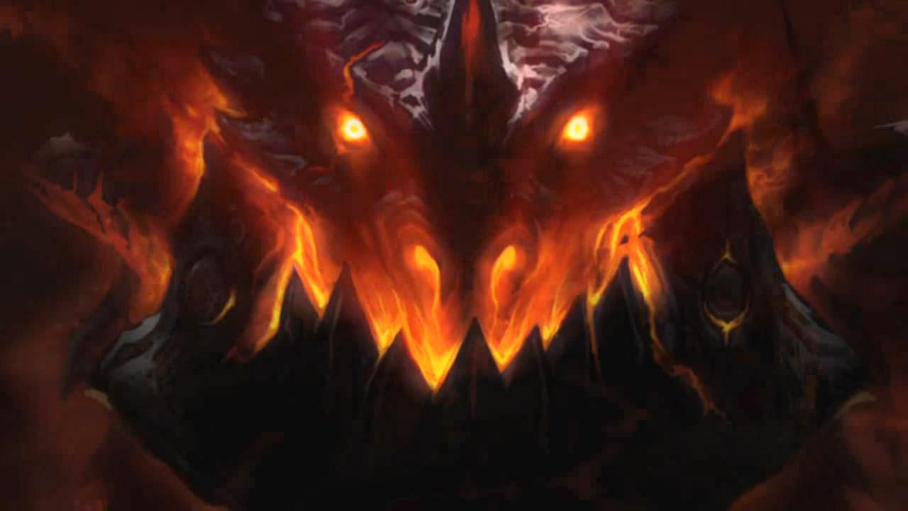 World Of Warcraft Cataclysm Wallpaper Dragon Face