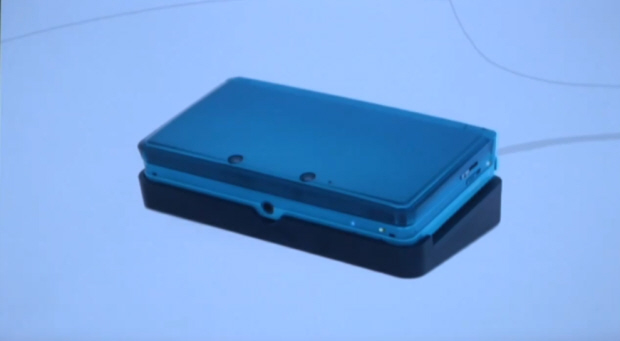 3DS charging lights