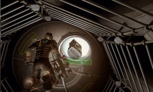 Dead Space 2 screenshot from the preview