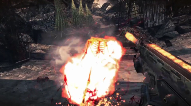 Bulletstorm weapons list screenshot - Peacemaker