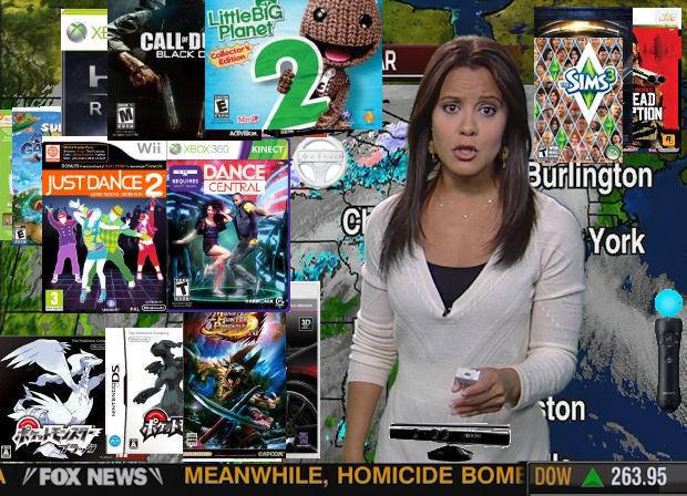 Games Weather Report Week 5