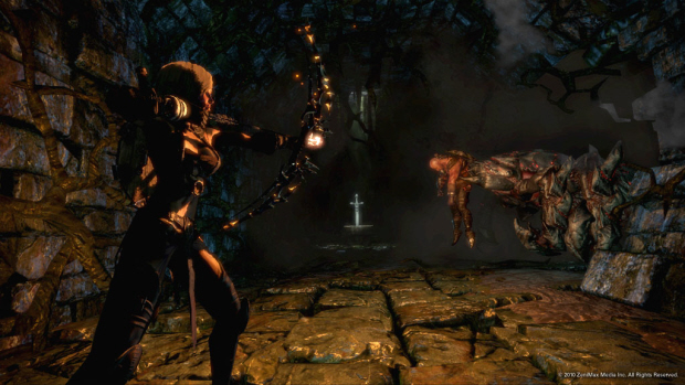 Hunted: The Demon's Forge gameplay screenshot (Xbox 360, PS3, PC)