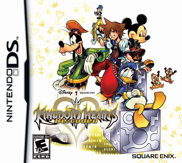 Kingdom Hearts Re:Coded walkthrough box artwork