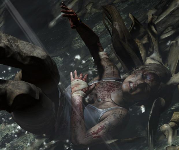 Lara Croft 2011 wallpaper - Facial Expressions of Pain