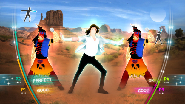 Michael Jackson: The Experience Kinect screenshot